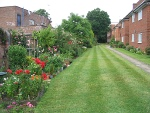 Gardens at Philipot's Almshouse, Eltham
